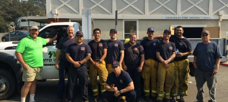 Napa Fire Relief: Helping the Firefighters
