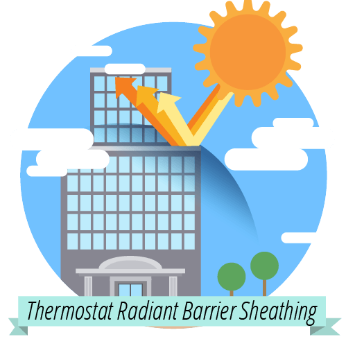 Thermostat Radiant Barrier Sheathing