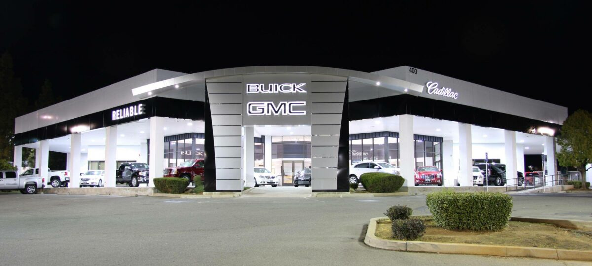 Reliable Buick GMC Cadillac Exterior Facade & Interior Renovation