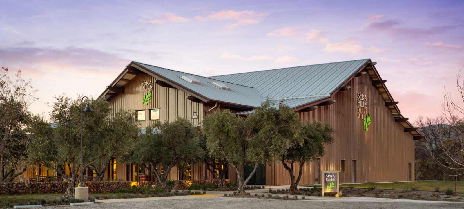Seka Hills Olive Mill Tasting Room and Expansion