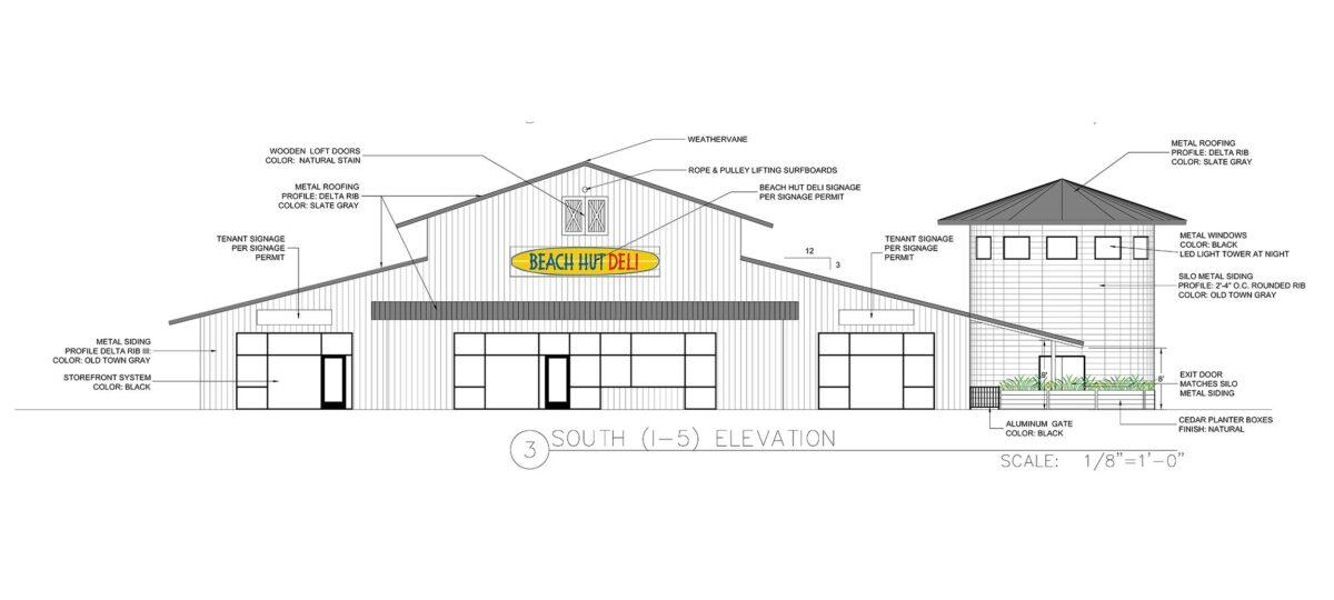 woodland retail center sierra view rendering